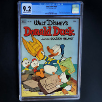 FOUR COLOR #408 (Dell 1952) 💥 CGC 9.2 OW-W 💥 Donald Duck and the Golden Helmet