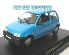 1:43 modellino FIAT CINQUECENTO - 1991 _ (58)