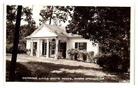 RPPC Little White House, Warm Springs, GA Real Photo Postcard *236