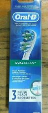 Oral-B Dual Clean Replacement Electric Toothbrush Head - 3 Count