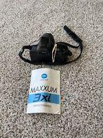 Minolta Maxxum 3Xi 35mm SLR Film Camera Body w/ 35-80mm Power Zoom Lens & manual