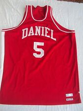 Pete Maravich Daniel High School Road Jersey Adult Size 58 New Without Tags!
