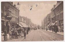 High Road Ilford 1919 Essex Postcard, B734