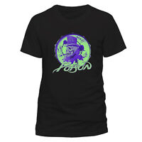 OFFICIAL Poison Smoking Skull T Shirt NEW S M L XL XXL