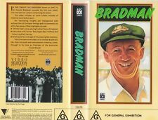 CRICKET THE BRADMAN  VHS VIDEO PAL~ A RARE FIND MINT SEALED