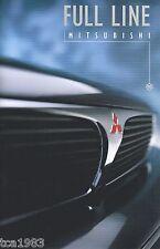 1995 Mitsubishi Catalog : 3000-GT,DIAMANTE,GALANT,ECLIPSE,MIRAGE,MONTERO,PickUp,