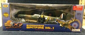 The Ultimate Soldier XD Supermarine Spitfire Mk.1 1/18 scale No 10173