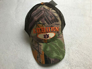 Auburn Tigers Embroidered Boggy Creek Limited Edition Camo Hat War Eagle NEW