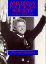 American Politics and Society By MCKAY. 9780631188148