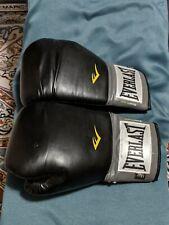 Everlast Pro Style Boxing Gloves - Black 14 oz