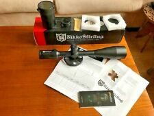 Nikko Stirling  Targetmaster 10-50X60 Mil Dot 30mm Series Scope and extra's