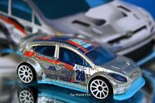 2016 Hot Wheels #157 HW Snow Stormers '12 Ford Fiesta ZAMAC