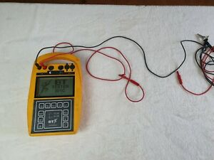 Spirent Bt Tester 301c BT LINE Fault finding data