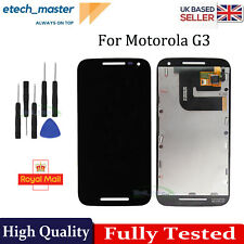 For Motorola Moto G3 G 3rd Gen LCD Display Touch Digitizer Screen XT1540 XT1541