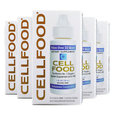 5 X Cellfood Original 1 FL Ozone Oxygen Energy - Factory Sealed