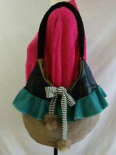 Recycled Fabric Handmade Handbag Creations Encore Art To Wear Mixed Media Canada