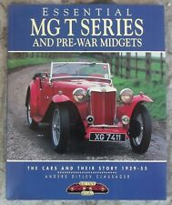"Clausager ""ESSENTIAL MG T SERIES AND PRE-WAR MIDGETS"" 1995 1st PB ED NF Color"