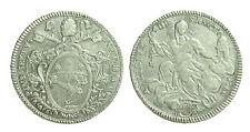 pcc1077) Stato Pontificio Pio VI Scudo Romano o Piastra (80 bolognini) 1780 A VI