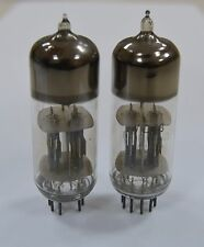 2pcs 6N6P / ECC99 / E182CC Double Triode Tubes NOS GOLD grid