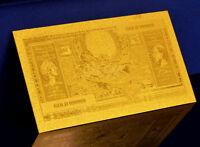 """★★ BELGIQUE : BILLET POLYMER  """" OR """" DU 100 FRANCS (20 BELGAS) ★"""