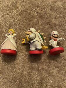 Mario/Peach/Bowser Wedding 3-Pack Super Mario Odyssey OOB Nintendo Switch