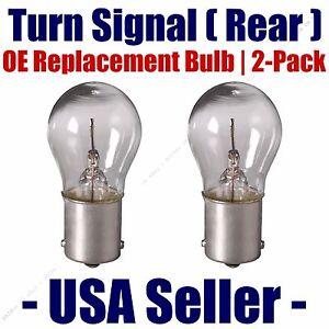 Rear Turn Signal Light Bulb 2pk - Fits Listed Rolls-Royce Vehicles - 1141