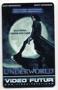 VIDEO FUTUR  collector  UNDERWORLD    (237)