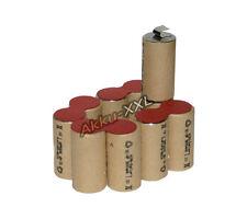 Batterie pour Kress 120 ASCD asmh 12v 2.0ah NiMH à réaliser soi-même