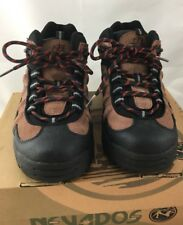 Nevados Men's Hiking Boots Low Hiking Shoe Vulcan Brown Black Size 8
