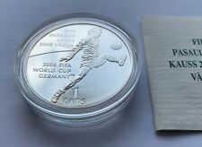2004 Latvia 1 Lats ----   FIFA World Cup  ------