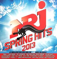 Compilation 2xCD NRJ Spring Hits 2013 - France (EX+/VG+)