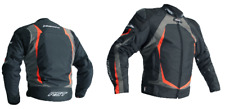 RST 2890 Blade II CE Textile Waterproof Motorcycle Jacket Grey FLO Red 44 MEDIUM