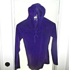 Columbia Sz XS Purple Hooded Hoodie Pull Over Long Sleeve Sweater ~~