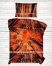 Indian Handmade Cotton Dark Forest Twin Duvet Cover Set Mandala Comforter Cover