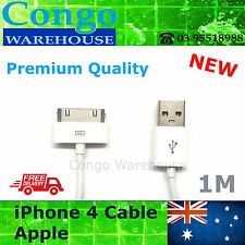 NEW Apple iPod Touch iPad 2 3 USB Data Charger Cable Sync Cord iPhone 4S 4 3GS