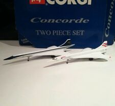 Gemini Jets Corgi GJBAW443 BOAC British Airways Concorde Model G-BOAF 1 400 scle