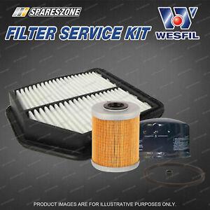 Wesfil Oil Air Fuel Filter Service Kit for Suzuki Grand Vitara JB 1.9 DDiS 05-on