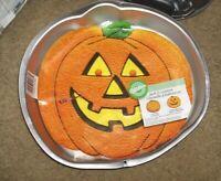Wilton Large Pumpkin Jack O' Lantern Cake Pan Mold FREE SHIPPING