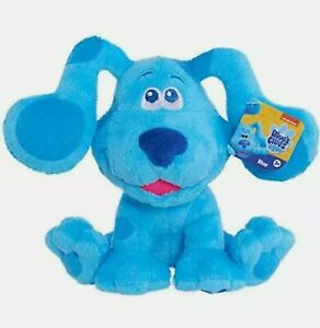 Blues Clues & You! BLUE Plush Stuffed Puppy Dogs New Nick Jr. Toys