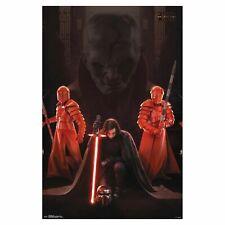 STAR WARS KYLO REN THRONE ROOM> THE LAST JEDI MOVIE POSTER 24x36
