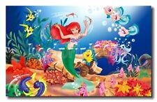 home decor WALL ART<the little mermaid,disney>oil painting HD printed on canvas