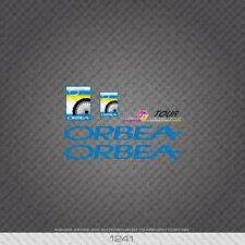 01241 Orbea Bicycle Stickers - Decals - Transfers - Blue
