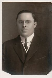Vintage Press Photo Gilded Age Business Man Mr. Carwelly