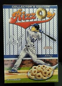 Collector's Edition Anthony Rizzos Cereal Chicago Cubs World Series 2016   New!