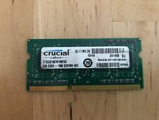 Crucial 2GB DDR3 1066 (PC3 8500) RAM Memory for Apple Model CT2G3S1067M.M8FKD