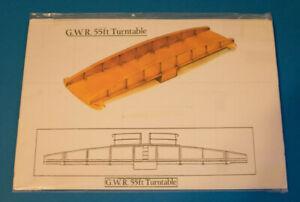 GWR BR Etched Brass kit un built 55ft Turntable 00 EM 18.83 Gauge