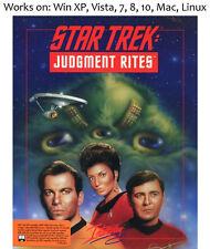 Star Trek Judgment Rites 1993 PC Mac Linux Game