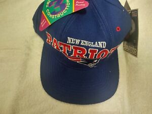 NEW Vintage 90s New England Patriots Starter Hat Cap with tags rare