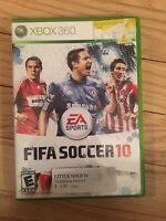 EA SPORTS FIFA SOCCER 10 - XBOX 360 - NO MANUAL - FREE S/H - (LL)