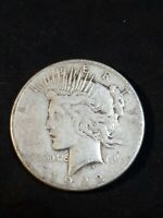 1922-S Silver Peace Dollar - Nice Circulated Condition Coin Liberty Peace Dollar